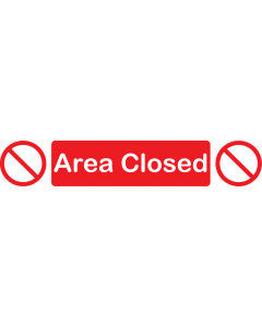 Area Closed