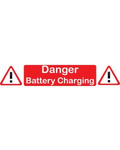 Danger - Battery Charging
