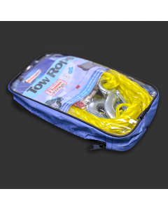 Yellow Tow Rope in a bag.