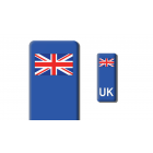 3D Gel Badge - UK Flag - Self adhesive