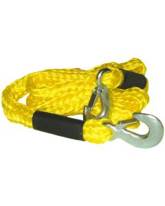 3 Tonne Yellow Braided Tow Rope
