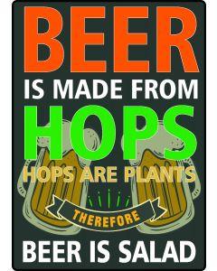 Beer Is Salad