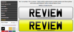 Review Number1Plates