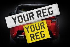 Range Rover Custom Reg