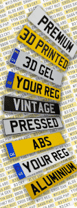 Number Plates Selection