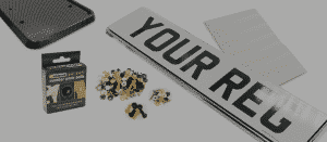 car registration accessories