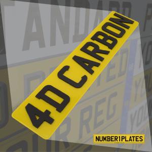 Replacement Plates - 4D Carbon