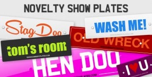 Novelty Show Plates | Number1Plates