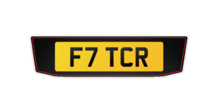 Replacement Range Rover Plates One