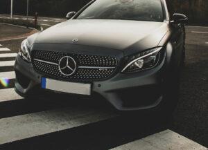 Mercedes Registration Plates On Car