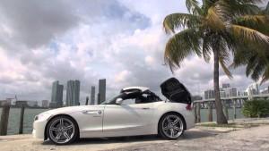 White BMW Z4