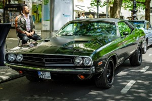 Dodge Challenger – classic muscle car – number plates - Number1Plates ™