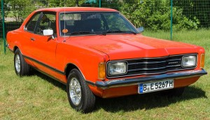 Ford Cortina – Number 1 Plates