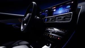 Car Interior and Computer