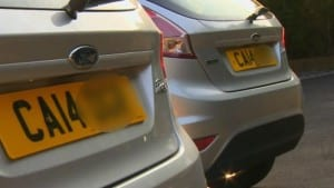 Ford Fiesta Number Plates