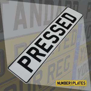 Standard Pressed Plates for Caravans