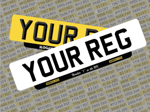 Lipped Number Plates