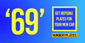 '69' number plates