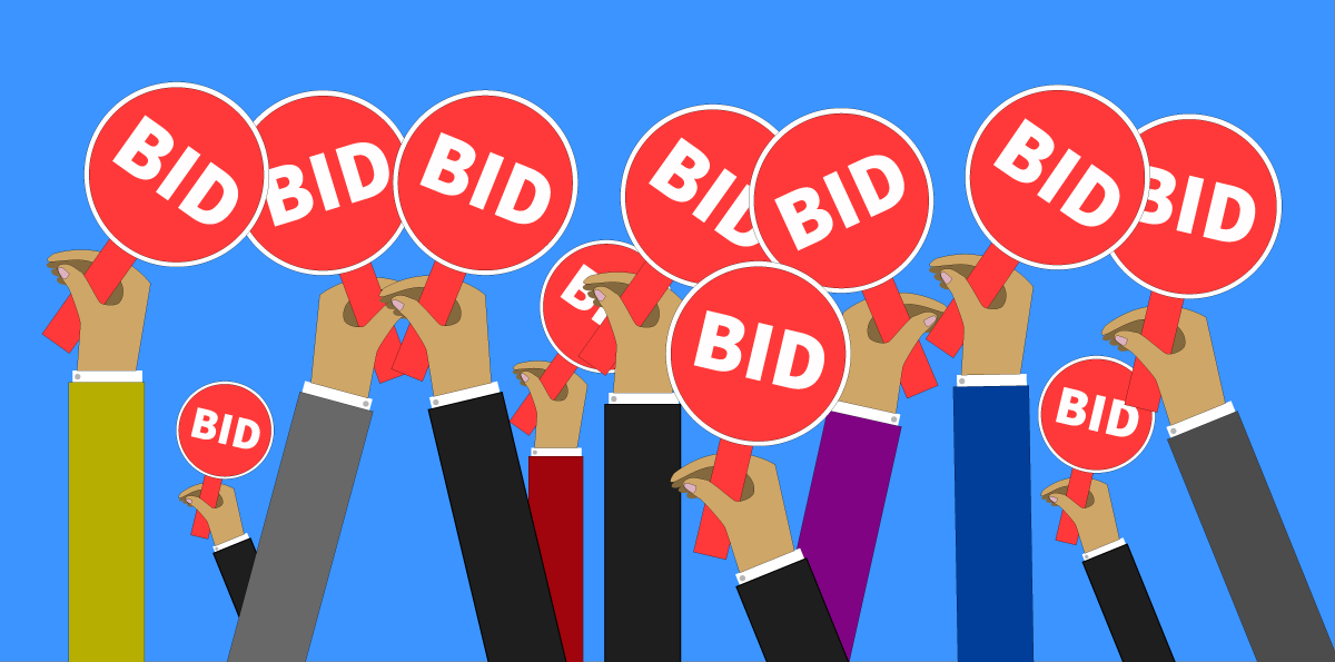 DVLA Auction Bidding