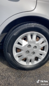 Tires with Restored Shine