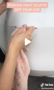 Removing Paint Scuffs from Car
