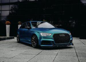 Light Blue Audi