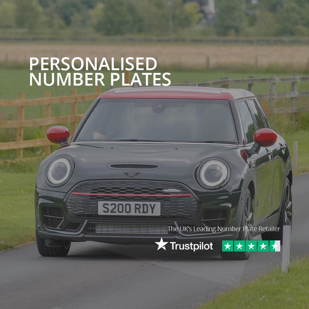personalised reg-plate